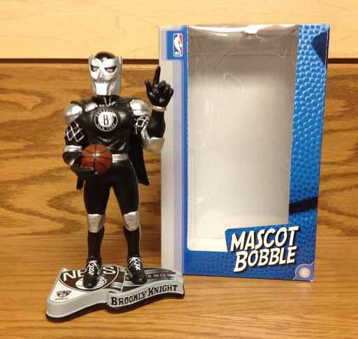 Brooklyn Knight Nets Mascot Bobblehead - BobblesGalore