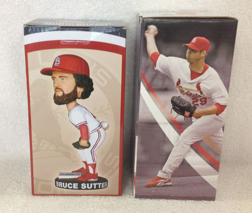 Bruce Sutter and Chris Carpenter Bobblehead Set - BobblesGalore