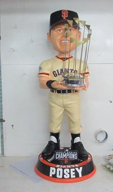 Buster Posey 2014 World Series 3 FOOT Bobblehead