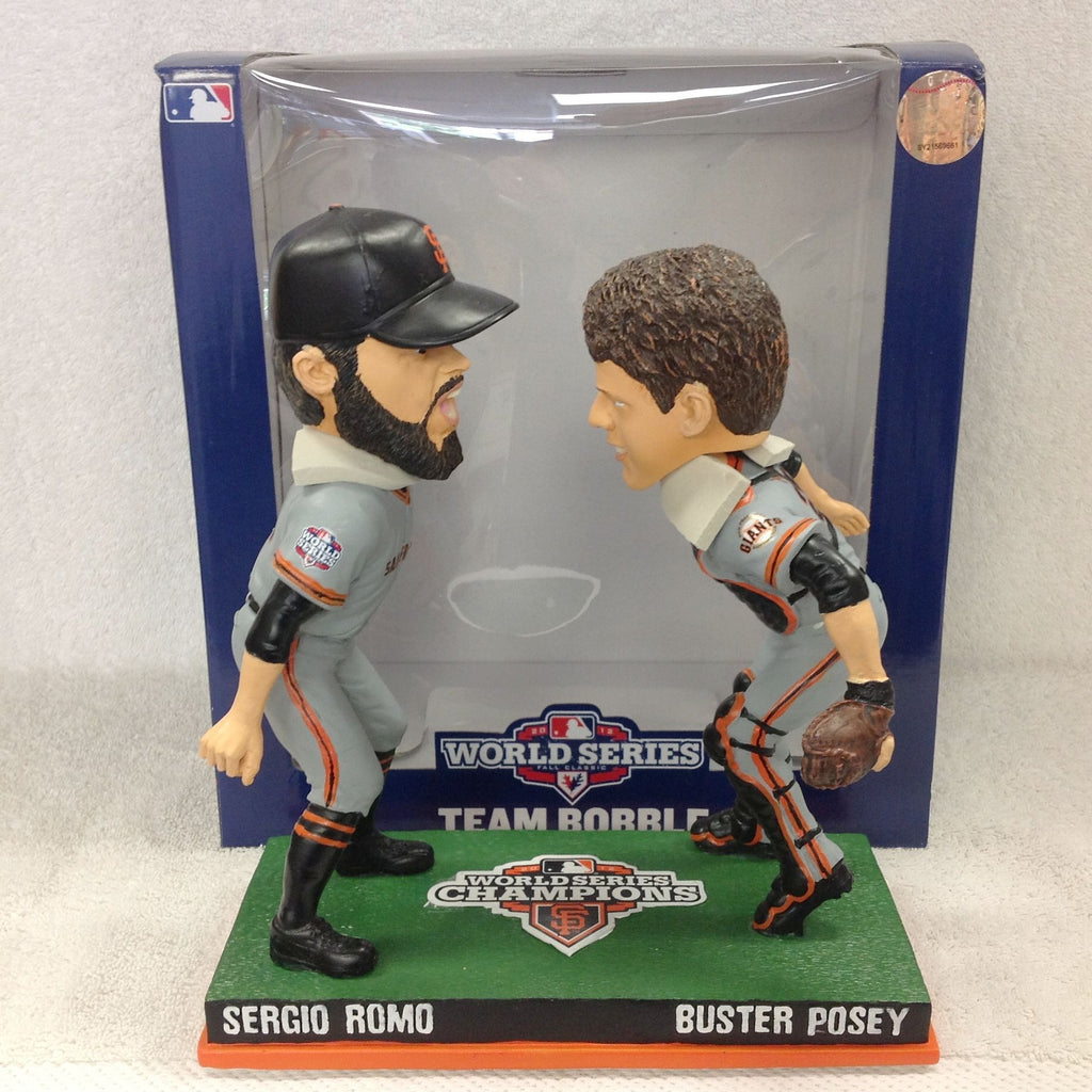 Buster Posey Sergio Romo DUAL Bobblehead