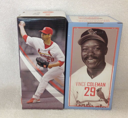 Chris Carpenter and Vince Coleman Bobblehead Set - BobblesGalore