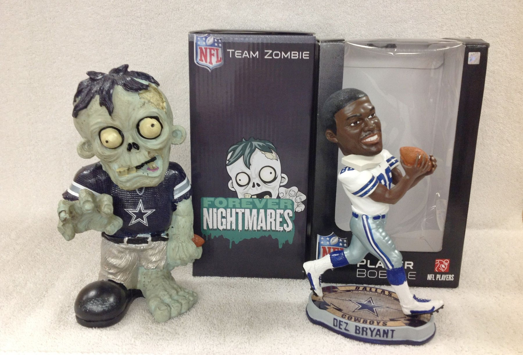 Dez Bryant Bobblehead and Dallas Cowboys Zombie - BobblesGalore