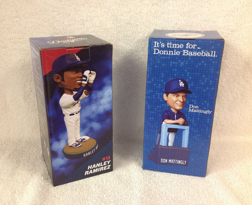 Hanley Ramirez and Don Mattingly Bobblehead Set - BobblesGalore
