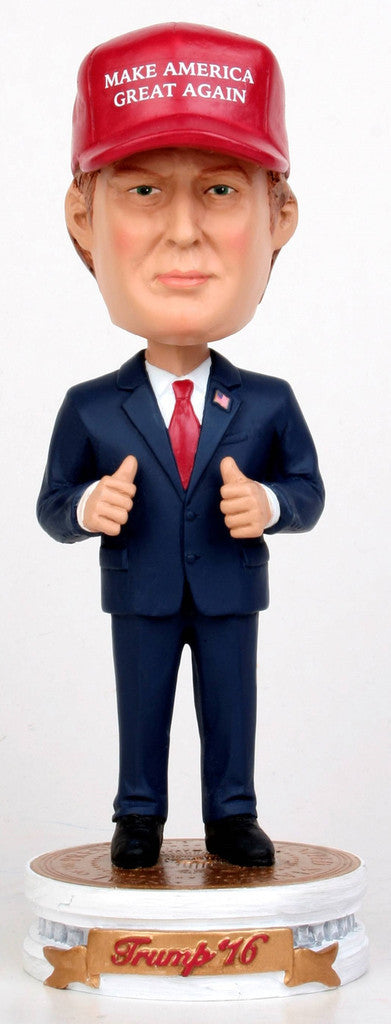 Donald Trump MAKE AMERICA GREAT AGAIN Bobblehead - BobblesGalore
