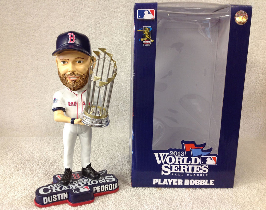 Dustin Pedroia WORLD SERIES Bobblehead - BobblesGalore