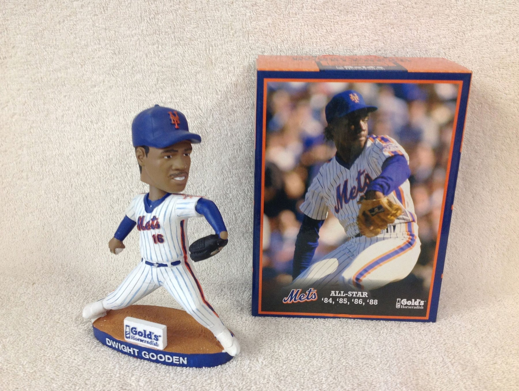 Dwight Gooden Bobblehead - BobblesGalore