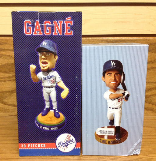 Eric Gagne and Eric Karros Bobblehead Set - BobblesGalore