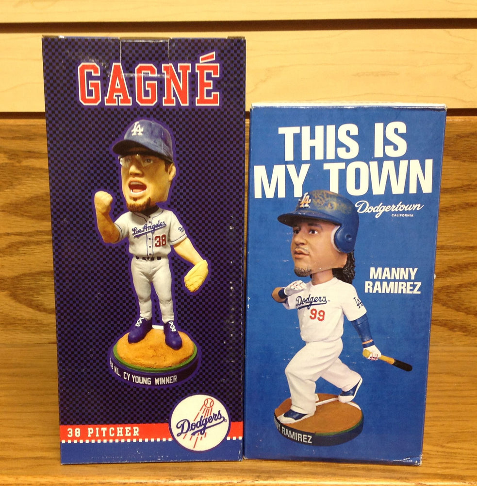 Manny Ramirez and Eric Gagne Bobblehead Set - BobblesGalore