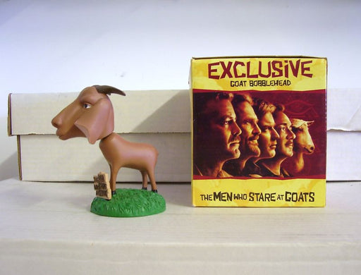 George Clooney Men Who Stare at Goats Bobblehead - BobblesGalore