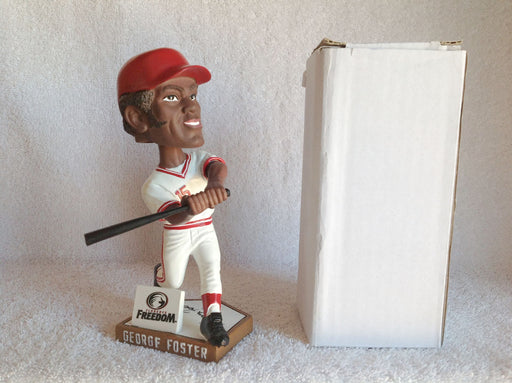 George Foster AUTOGRAPHED Bobblehead - BobblesGalore
