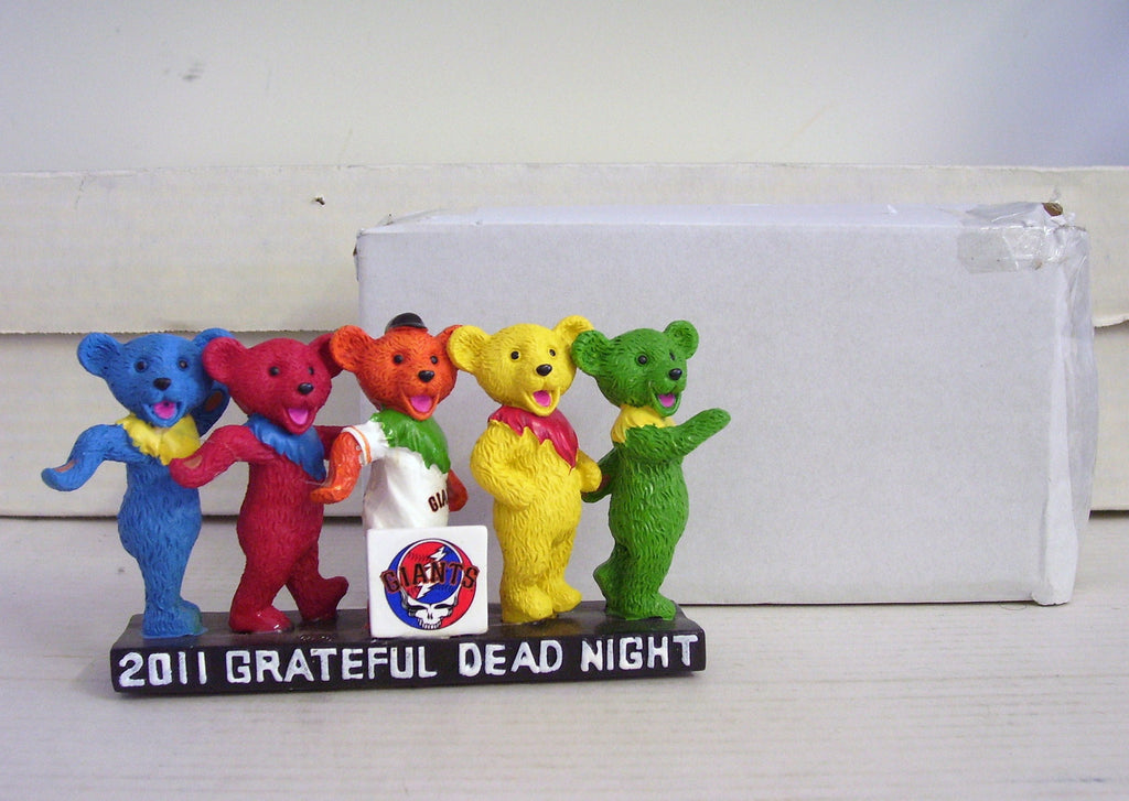 Jerry Garcia Grateful Dead Dancing Bears - BobblesGalore
