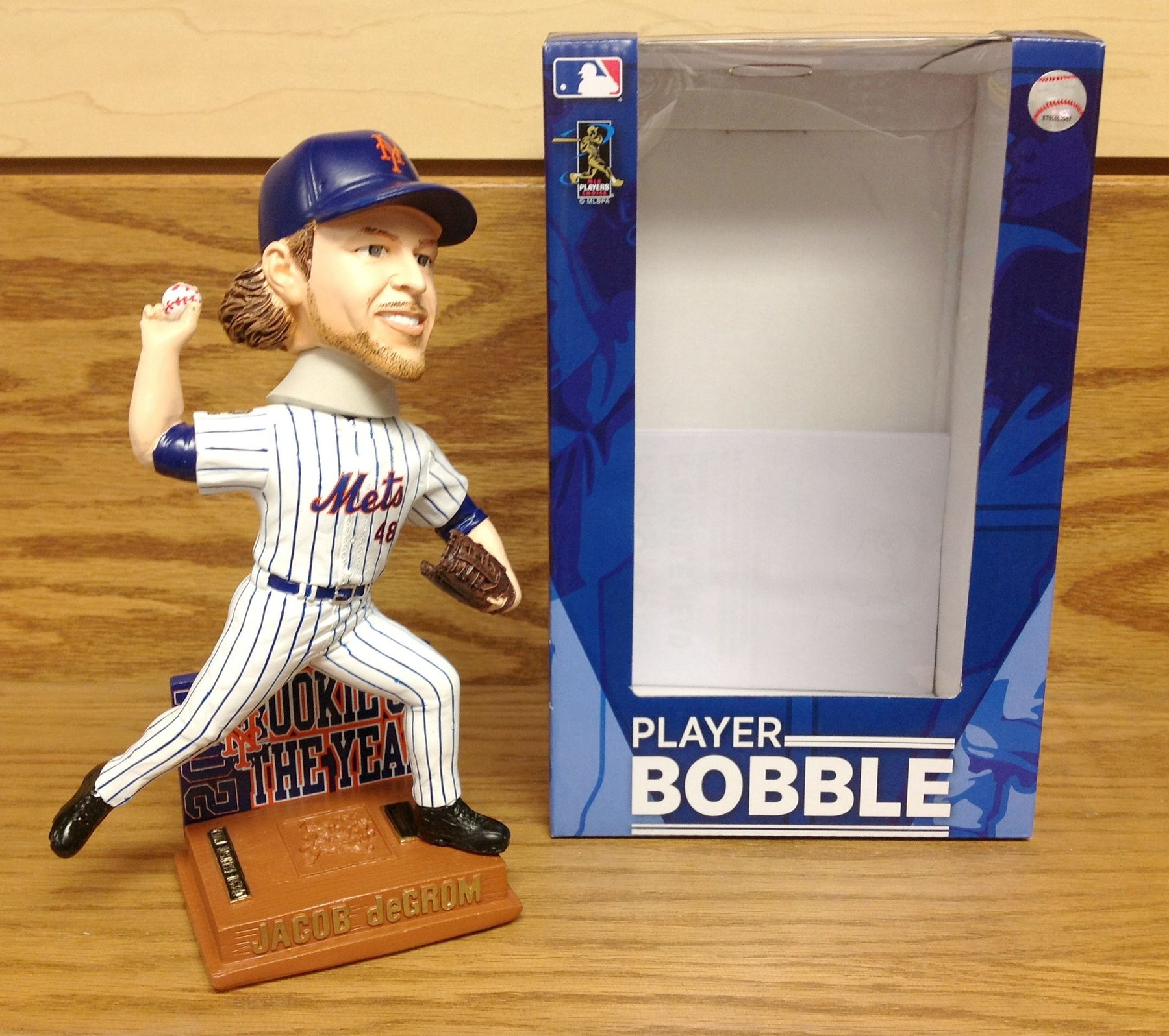 Jacob deGrom Bobblehead - BobblesGalore