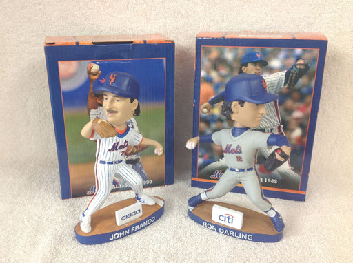 John Franco and Ron Darling Bobblehead Set - BobblesGalore