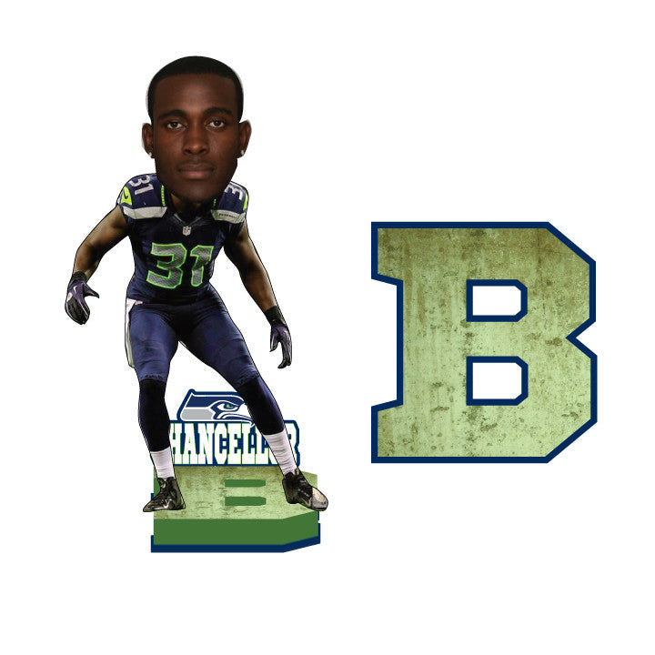Kam Chancellor LEGION OF BOOM Bobblehead - BobblesGalore
