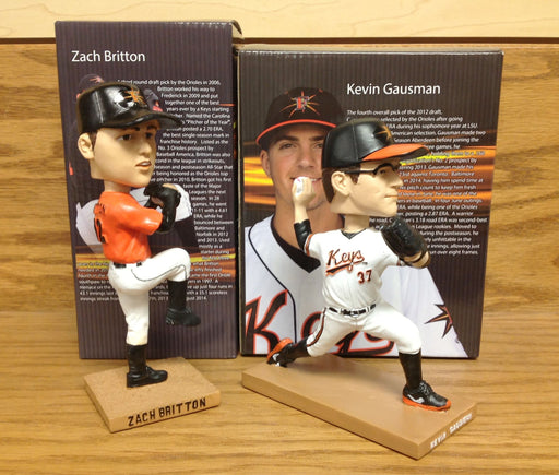 Kevin Gausman and Zach Britton Bobblehead Set - BobblesGalore