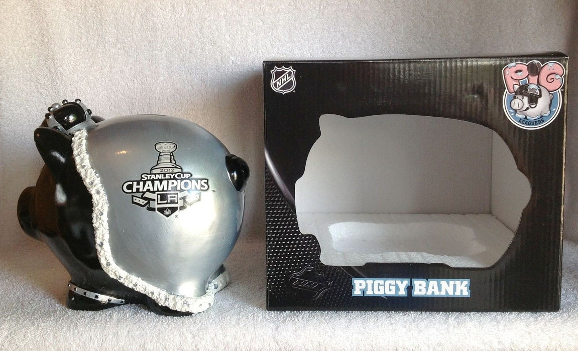 Los Angeles Kings Stanley Cup Champions Piggy Bank - BobblesGalore