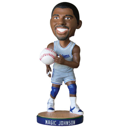 Magic Johnson Los Angeles Dodgers 2014 Bobblehead - BobblesGalore