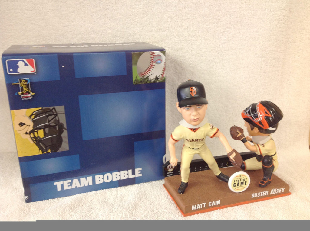Buster Posey and Matt Cain Bobblehead - BobblesGalore