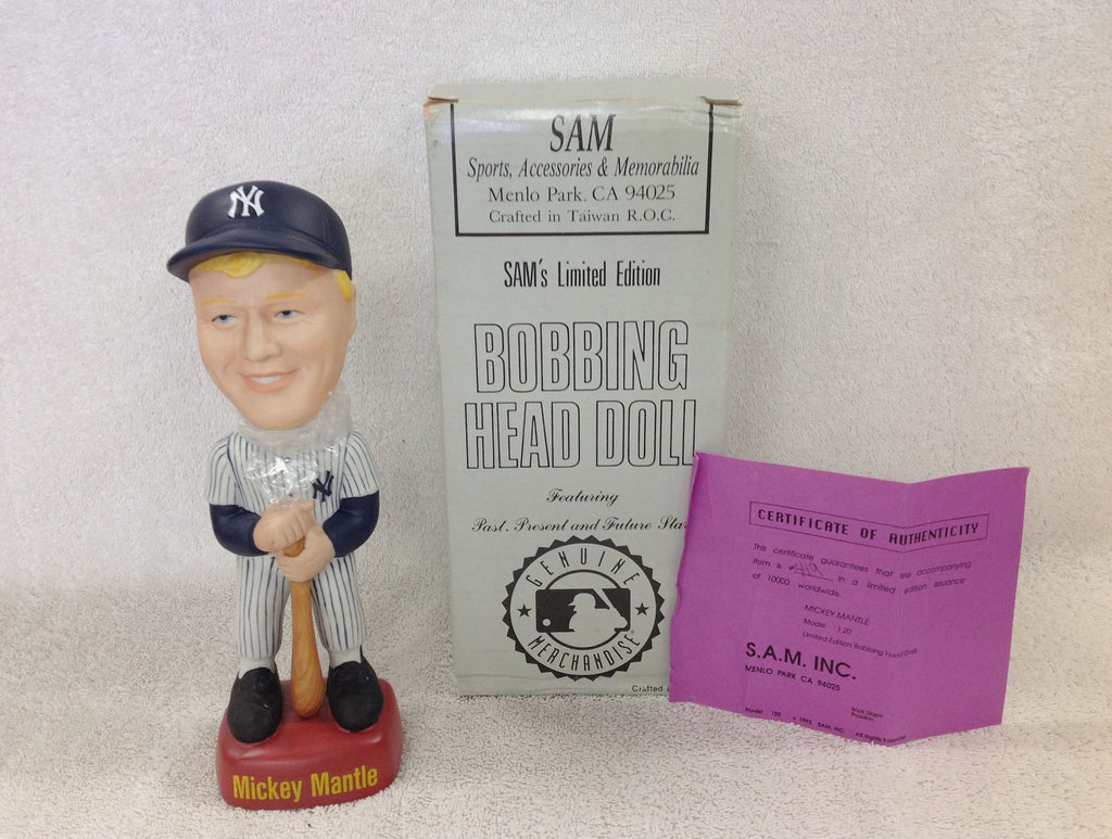Mickey Mantle Bobblehead - BobblesGalore