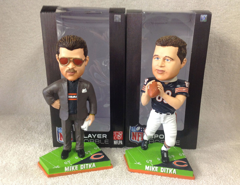 Mike Ditka Bobblehead SET - BobblesGalore