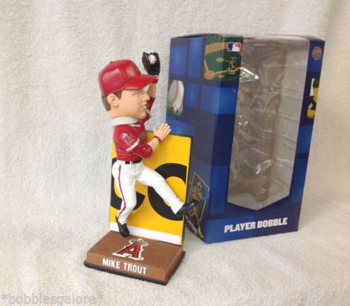 Mike Trout WALL CATCH Bobblehead - BobblesGalore
