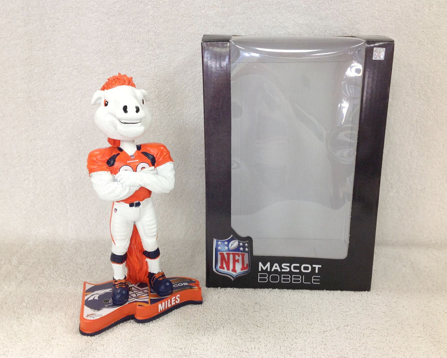 Miles the Bronco Denver Broncos Bobblehead - BobblesGalore