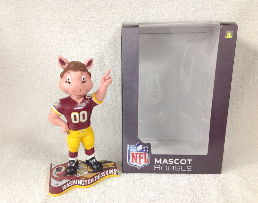 Pigskin the Hog Washington Redskins Mascot Bobblehead - BobblesGalore