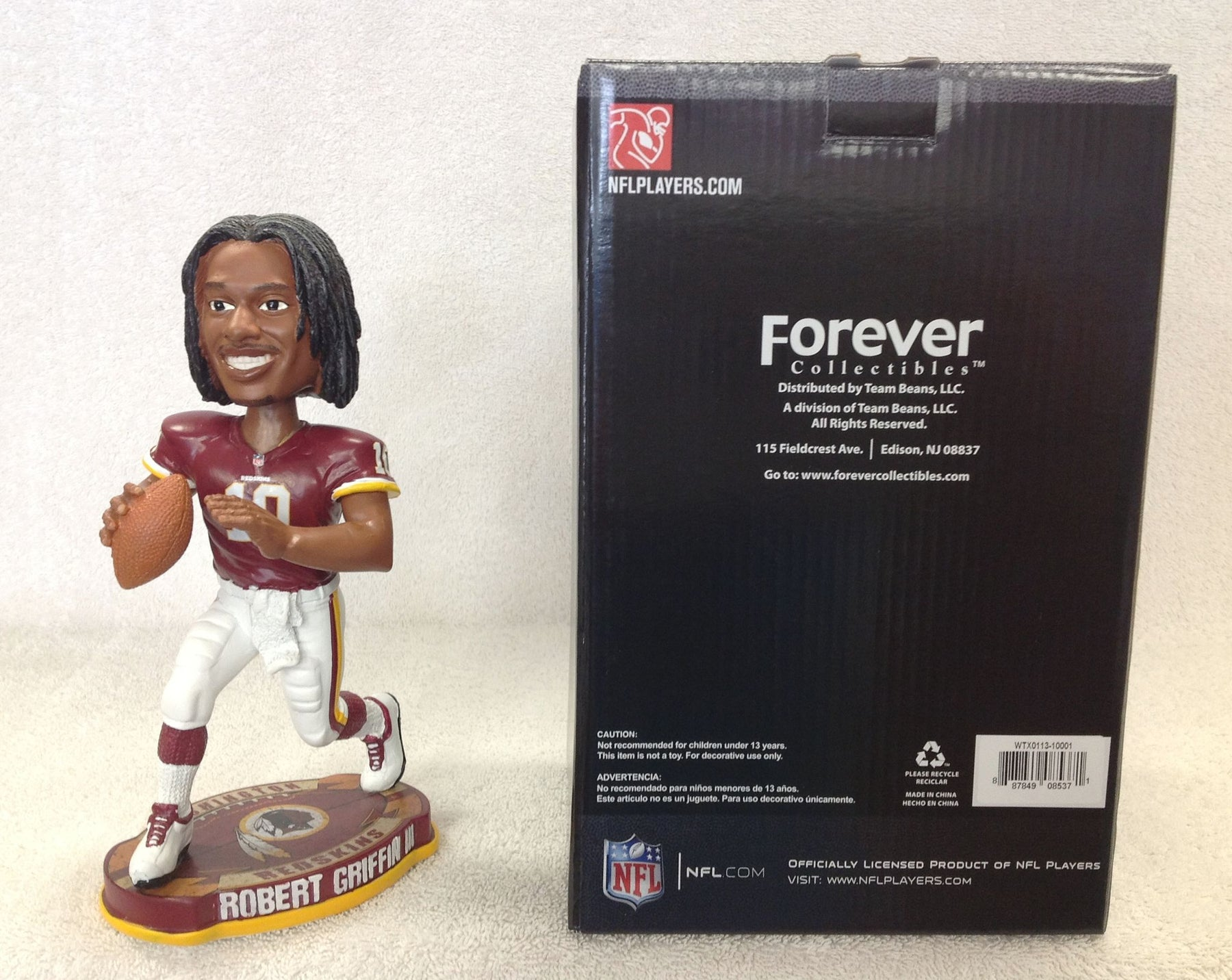 Robert Griffin Bobblehead - Limited to 62 Made - BobblesGalore