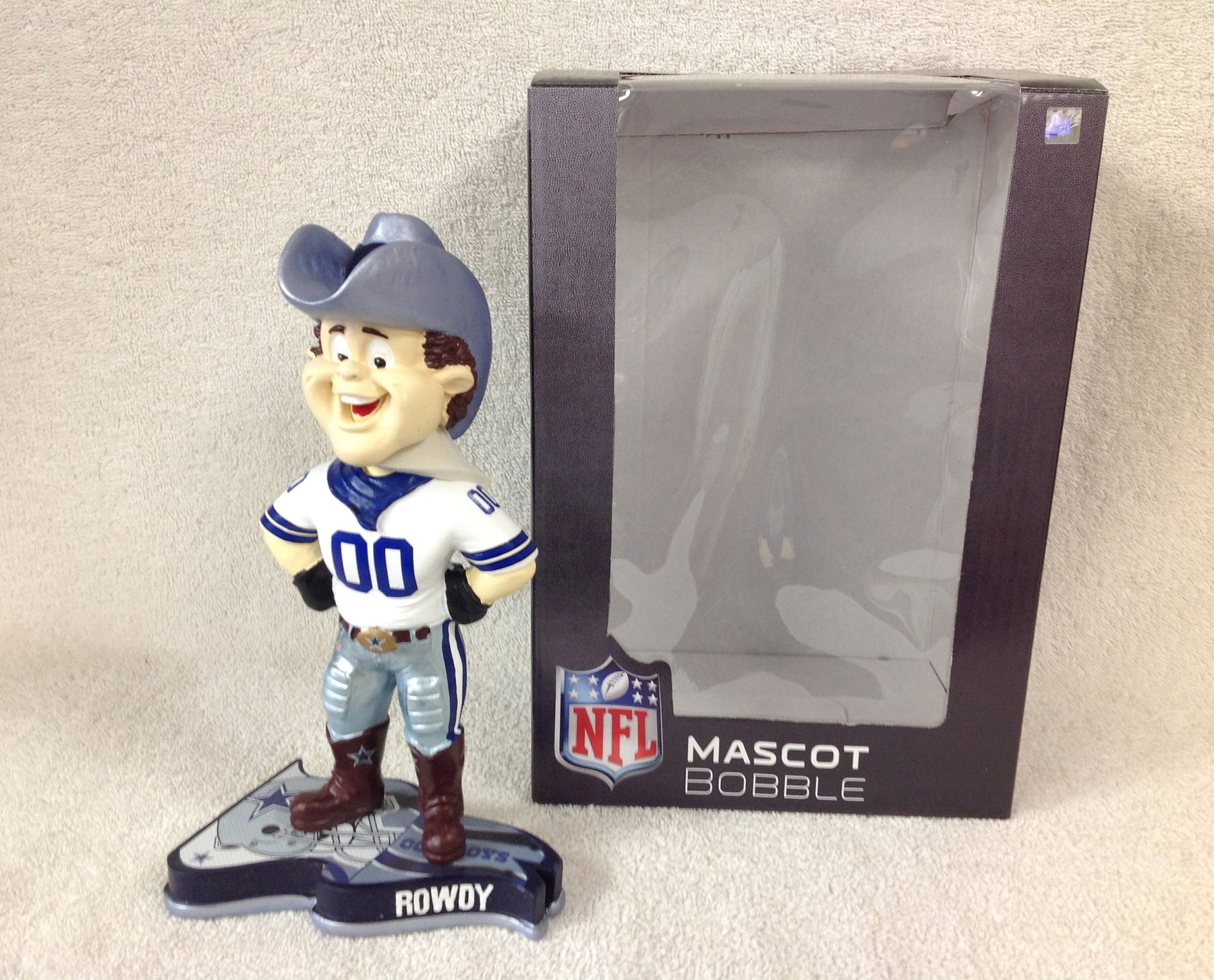 Rowdy The Dallas Cowboys Mascot Bobblehead - BobblesGalore