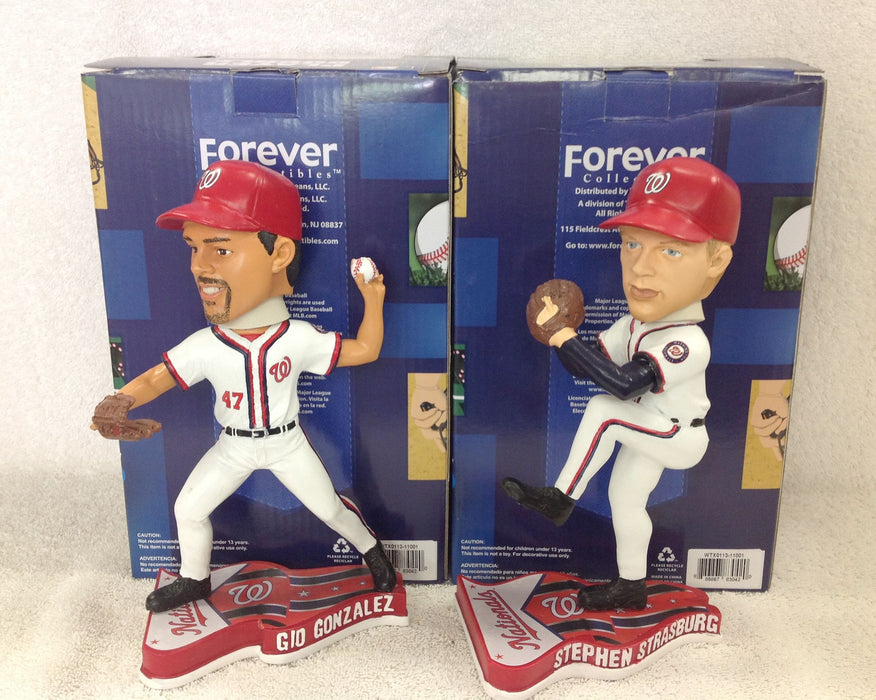Stephen Strasburg and Gio Gonzalez Bobblehead Set - BobblesGalore