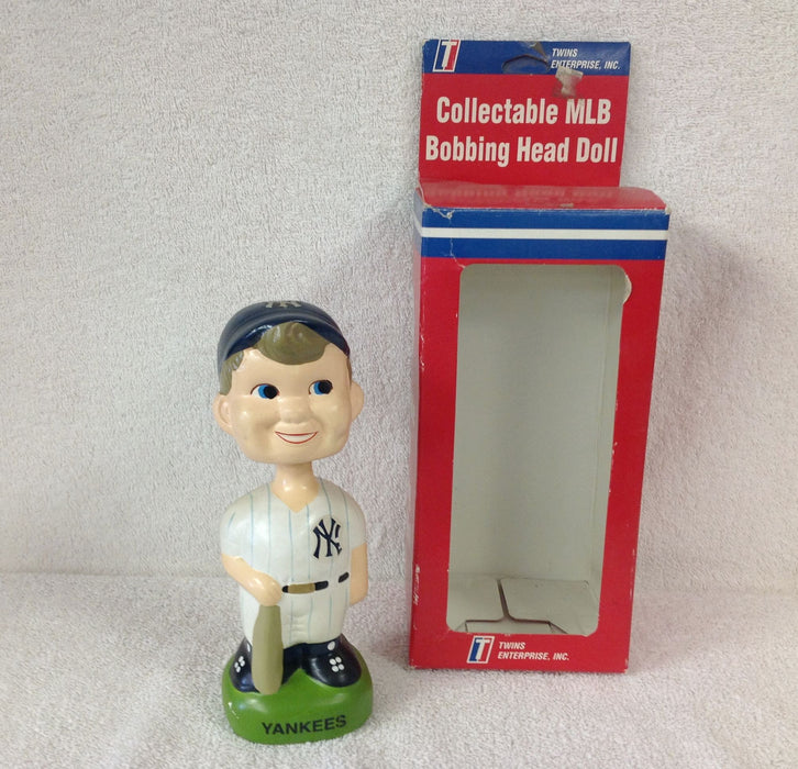 New York Yankees Boy Face Mascot - BobblesGalore