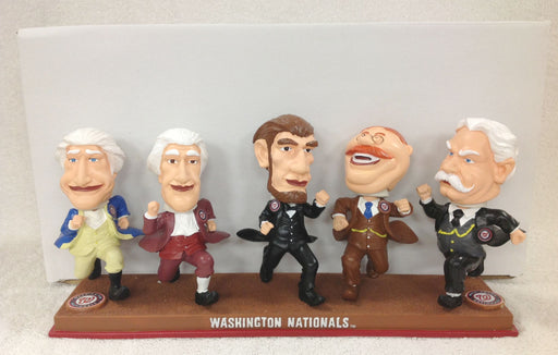 Washington Jefferson Lincoln Roosevelt Taft Bobblehead - BobblesGalore