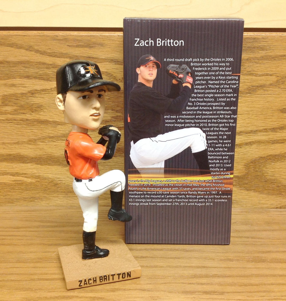 Zach Britton Bobblehead - BobblesGalore