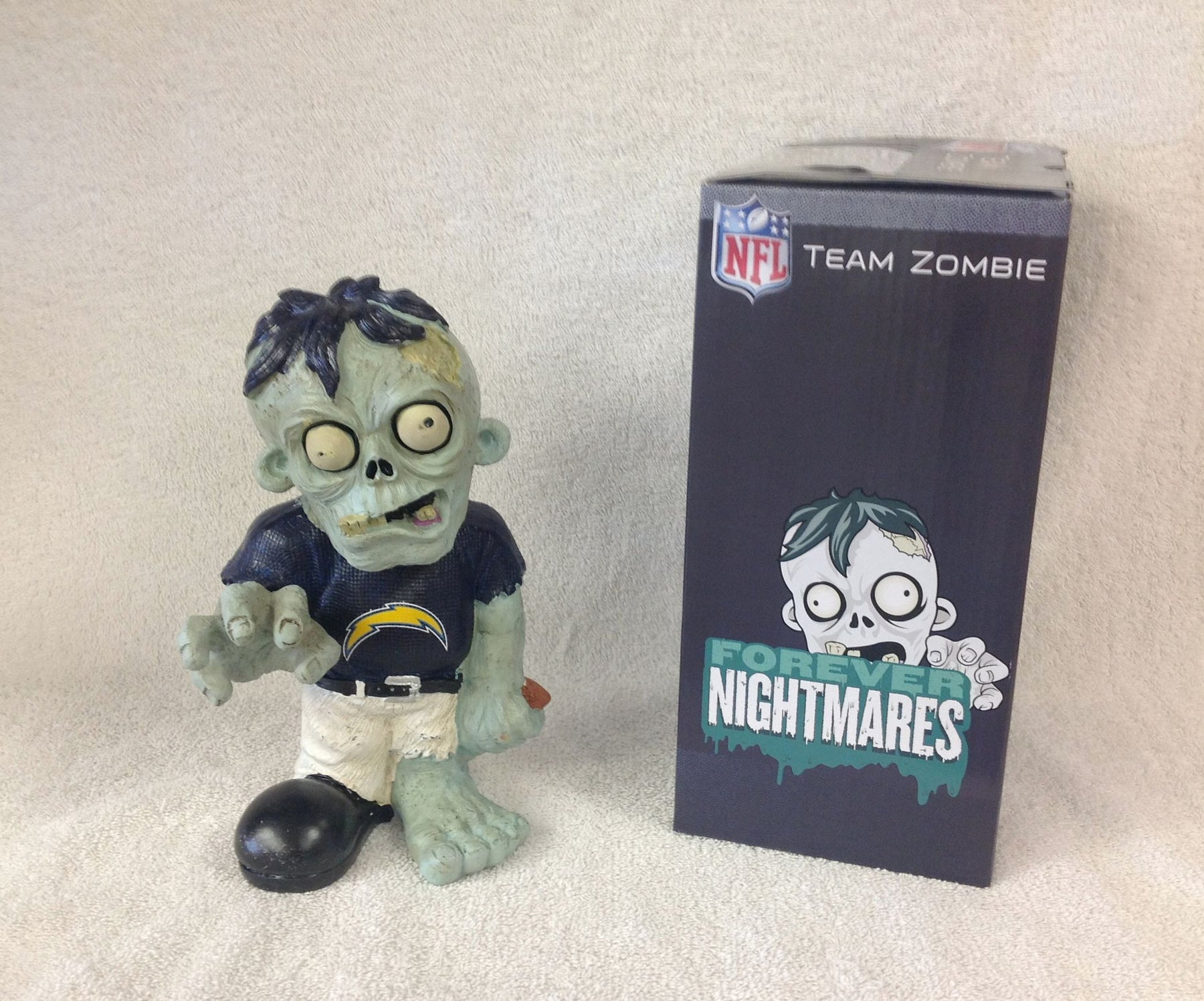 San Diego Chargers Zombie - BobblesGalore