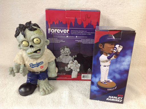 Hanley Ramirez Bobblehead and Los Angeles Dodgers Zombie - BobblesGalore