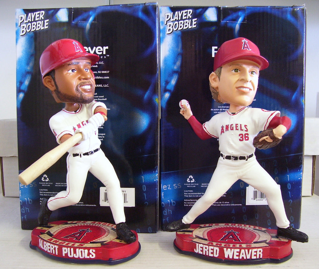 Albert Pujols and Jered Weaver Bobblehead