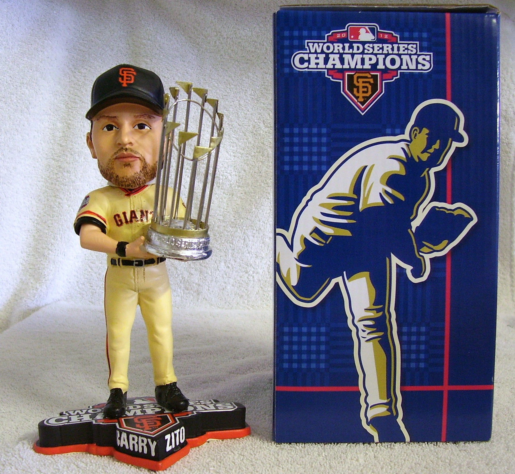 Barry Zito Bobblehead - BobblesGalore