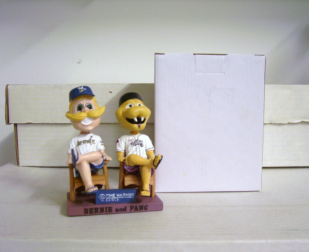Bernie Brewer and Fang Bobblehead