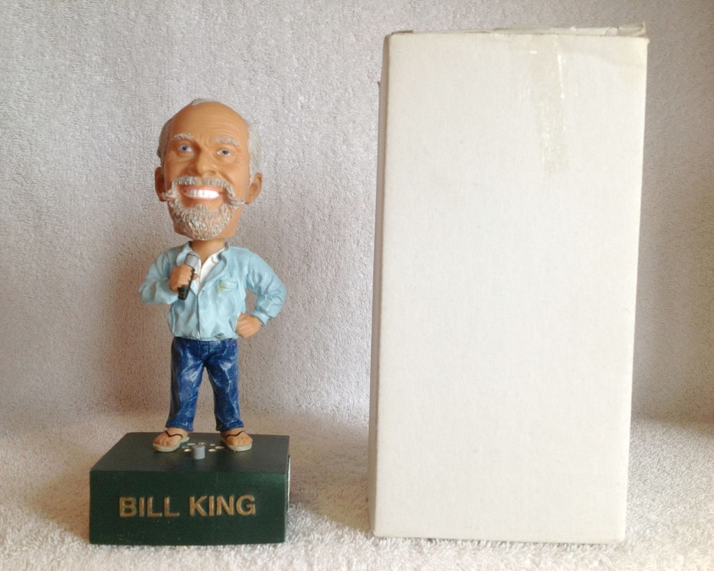 Bill King Talking Bobblehead - BobblesGalore