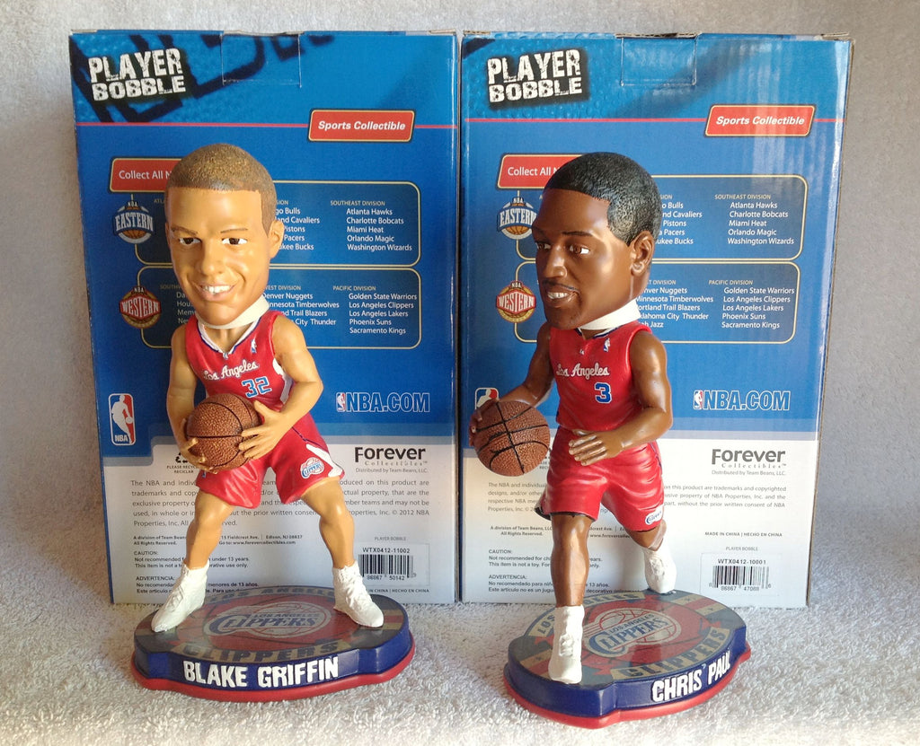 Blake Griffin and Chris Paul Bobblehead Set - BobblesGalore