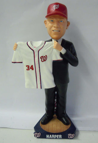 Bryce Harper Bobblehead with MLB Debut Ticket - BobblesGalore