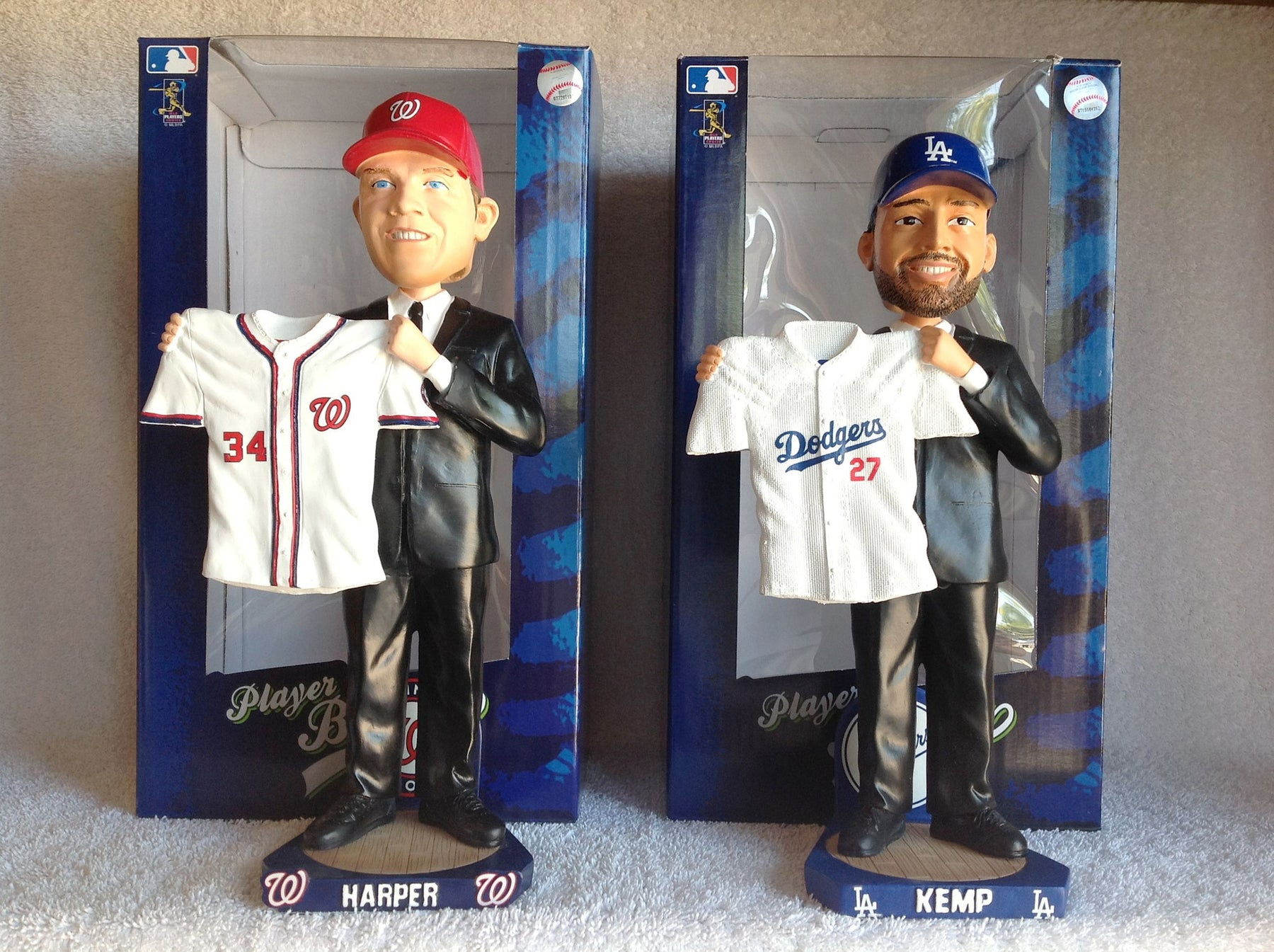 Bryce Harper and Matt Kemp Bobblehead Set - BobblesGalore