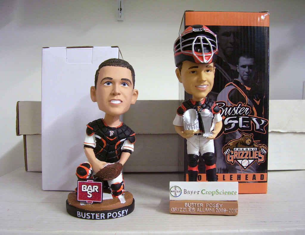 Buster Posey Bobblehead Set