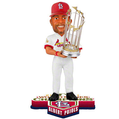 Set of 13 Cardinals 2011 World Series Bobbleheads - BobblesGalore