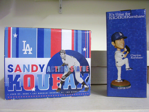 Sandy Koufax and Clayton Kershaw Bobblehead - BobblesGalore