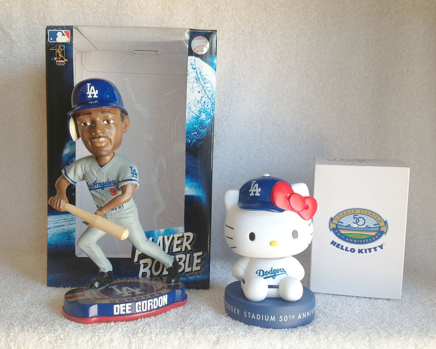Dee Gordon and Hello Kitty Bobblehead Set - BobblesGalore