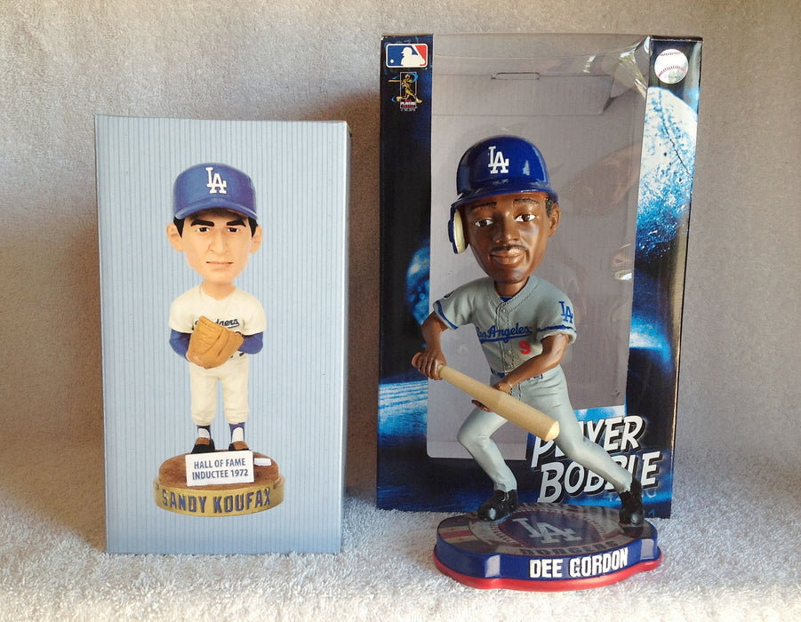Sandy Koufax and Dee Gordon Bobblehead Set - BobblesGalore