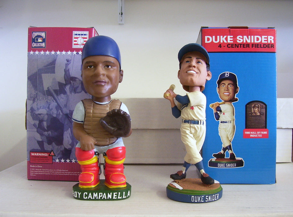 Duke Snider and Roy Campanella Bobblehead Set - BobblesGalore