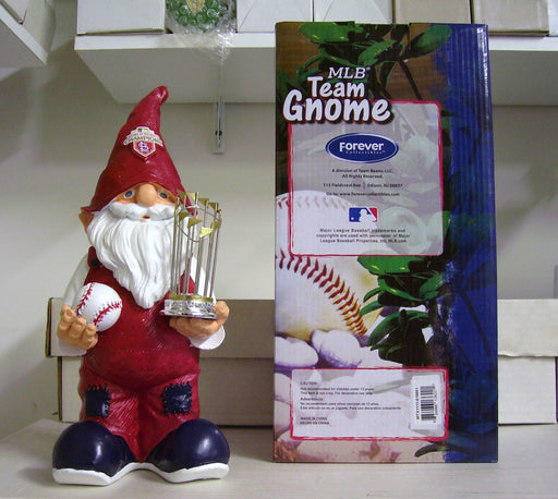 Cardinals World Series Gnome - BobblesGalore