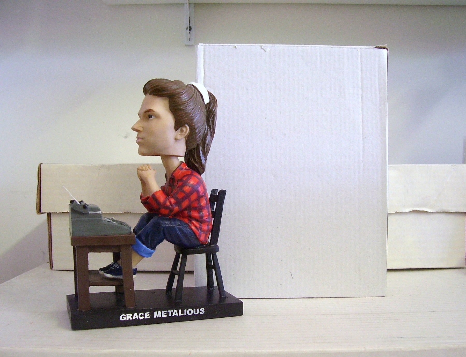 Grace Metalious Bobblehead - BobblesGalore